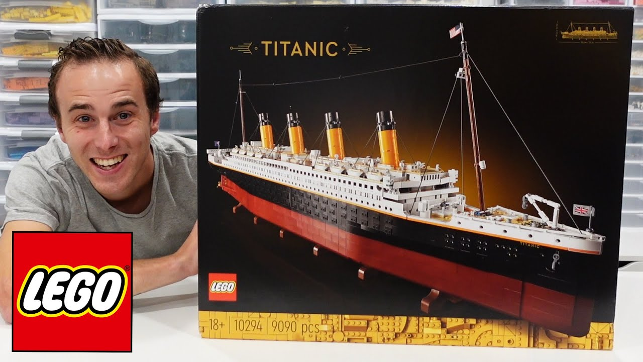 LEGO's 'Largest' Ever Set Is The 9090-Piece Titanic