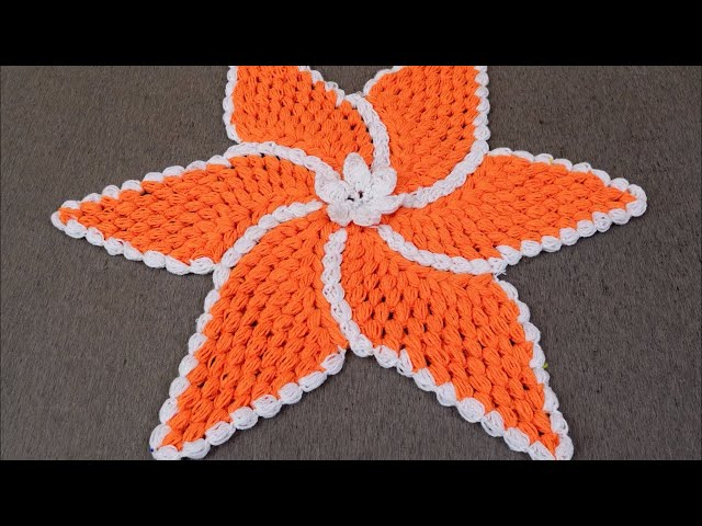 Crochet Pattern Rumal at Home | Beautiful Design Rumal | Woolen Crafts | DIY Table Mat | Thalpos
