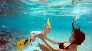 Alexander Tikhomirov Family. Honeymoon. Maldives