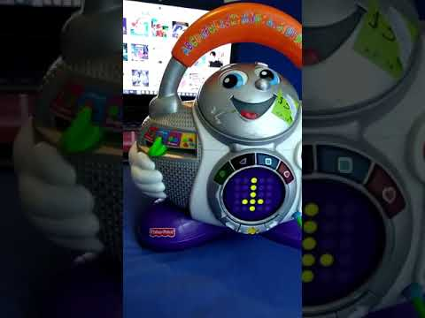 2007 Fisher Price Learning Karaoke & Robot