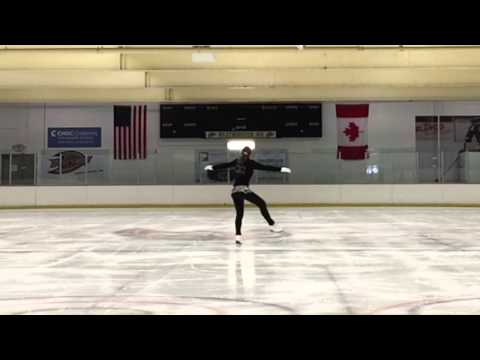 Skating in California at Westminster Ice