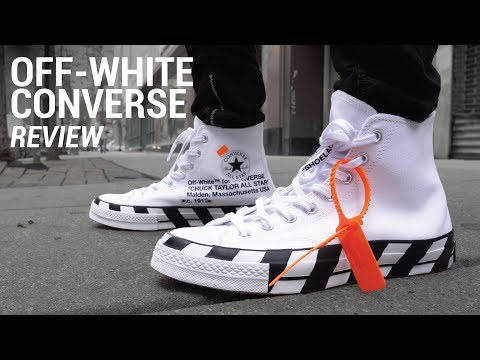 Off White Converse Chuck Taylor Review