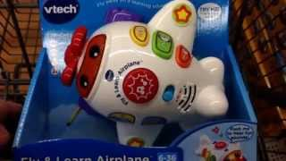 "VTECH ""Fly & Learn Airplane"" Electronic Learning Baby Toy / Toy Review"