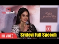 Sridevi Full Speech At Kabhi Yaadon Mein Song Launch | Divya Khosla Kumar | T-series