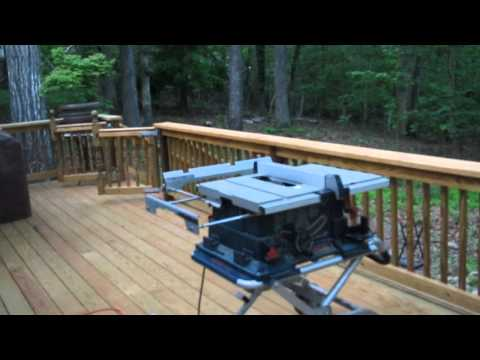 LED Deck Lighting Installation