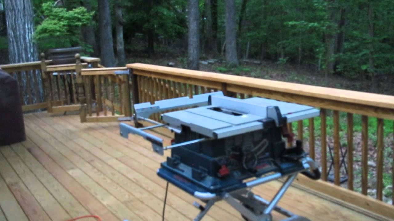 Led Deck Lighting Installation