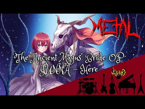 JUNNA - Here (The Ancient Magus' Bride OP Full) (feat. Rena) 【Intense Symphonic Metal Cover】