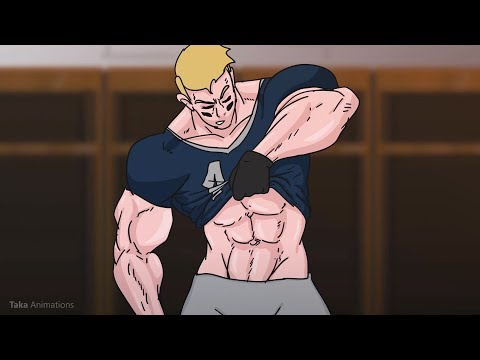 Football Player Muscle Growth