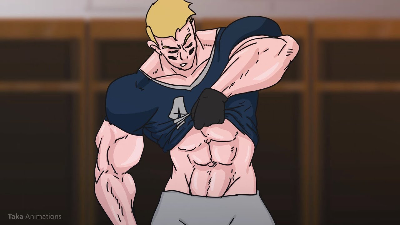 Football Player Muscle Growth #1