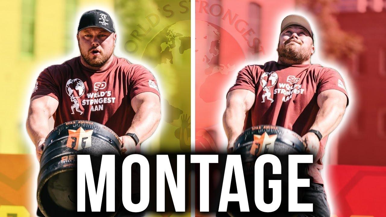 WORLDS STRONGEST MAN TRAINING MONTAGE