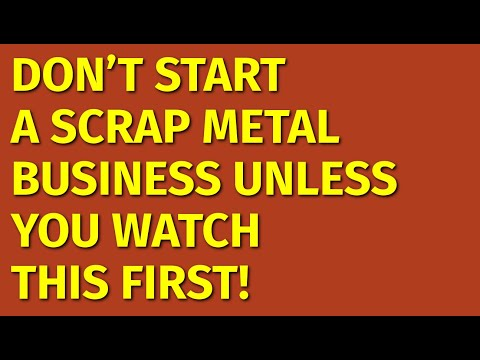 How To Start A Scrap Metal Business | Including Free Scrap Metal Business Plan Template
