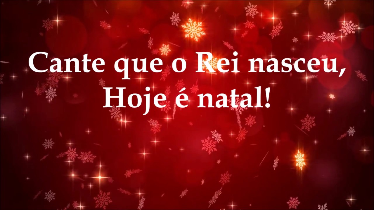 HOJE É NATAL - Born is the King (It's Christmas) Hillsong ...