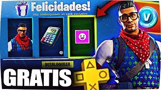 HOW TO HAVE THE NEW FREE PS PLUS SKIN PACK ON FORTNITE! *The Best REAL Method*