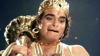 Hanuman Meets Sita in Ashok Vatika - Sampoorna Ramayan Scene