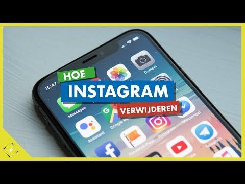 hoe verwijder je jouw instagram account via de telefoon