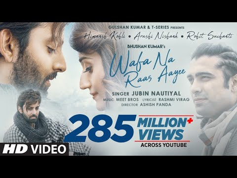 Wafa Na Raas Aayee Song Jubin Nautiyal Ft.Himansh K,Arushi N, Meet Bros|Rashmi V|Ashish P| Bhushan K
