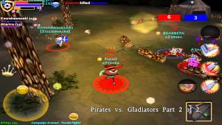 Pocket Legend PvP: BttD Ep. 4 - Pirates vs. Gladiators Part 2 [1080p HD GAMEPLAY]