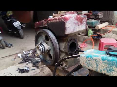 Hướng dấn sửa máy cày không nổ khó nổ chi tiết  p1