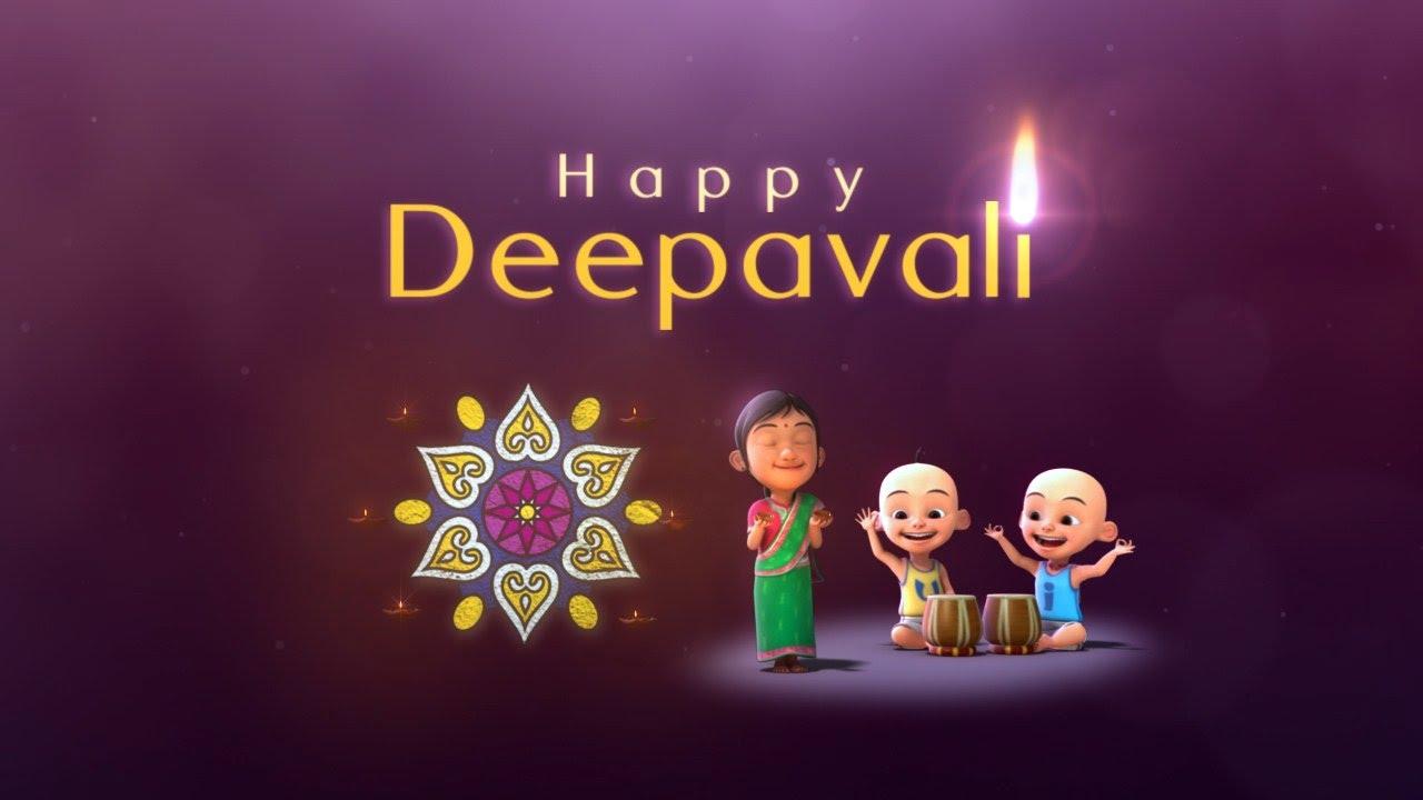 Upin  Ipin  Selamat Menyambut Hari Deepavali  YouTube