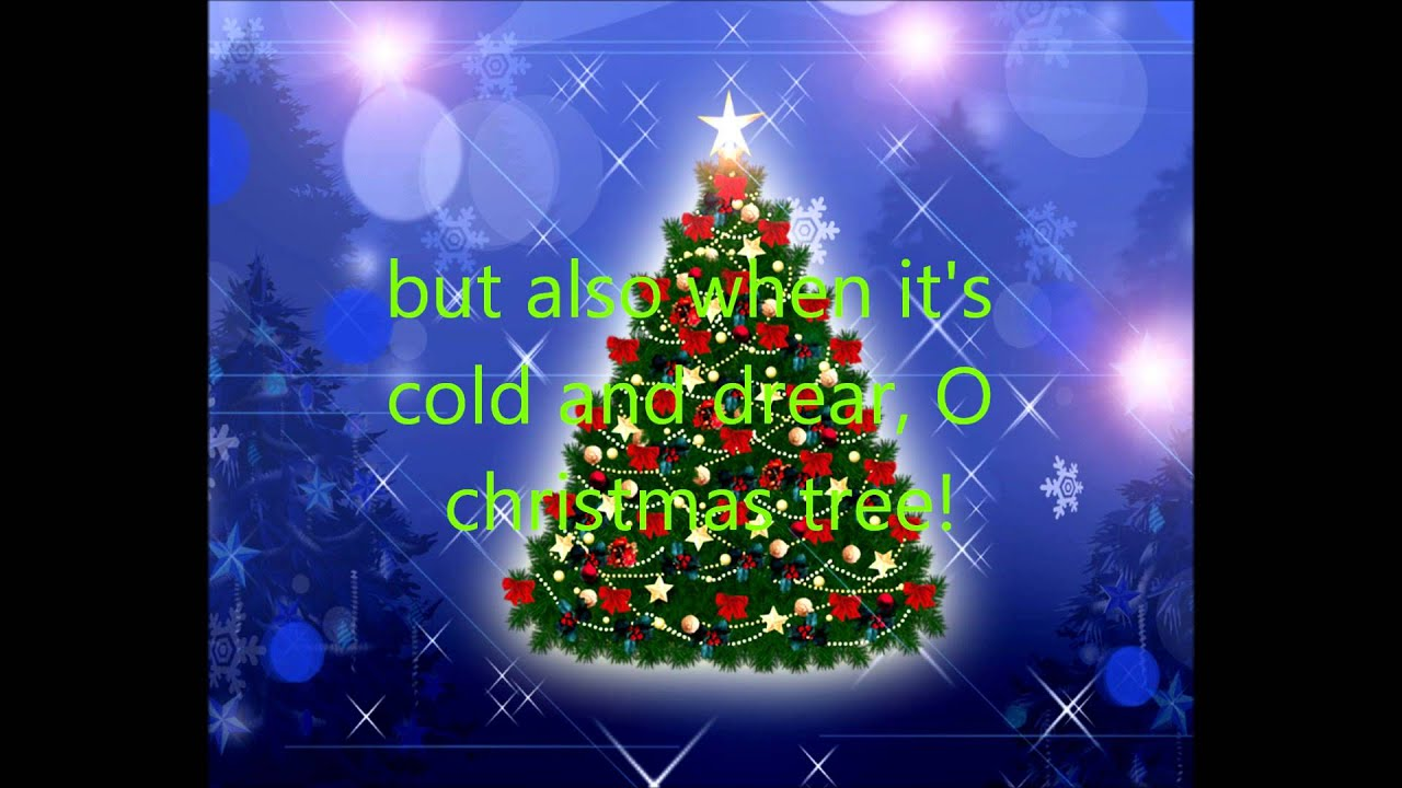 O Christmas Tree With Lyrics