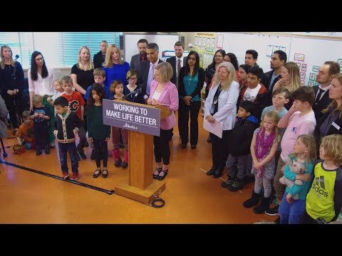 Investing in new and upgraded schools in Alberta - April 3, 2018