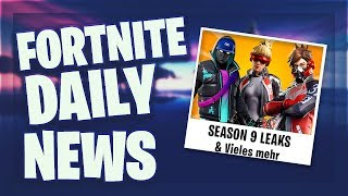 *LEAKS* SEASON 9 SKINS - Fortnite Daily News (9 Mai 2019)