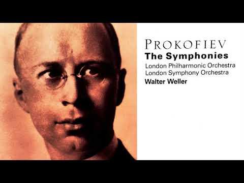 Prokofiev - The Symphonies n°1,2,3,4,5,6,7 / Scythian Suite (Century's recording : Walter Weller)