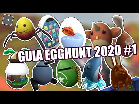 COMO PEGAR OS OVOS DO EGGHUNT 2020 EM CADA JOGO | ROBLOX (Parte 1)