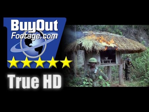HD Historic Stock Footage - Vietnam War Binh Dinh Province 1967
