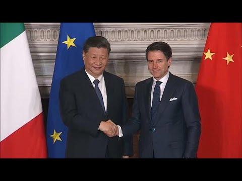 الرئيس الصيني ورئيس الوزراء الإيطالي يوقعان اتفاقيات تجارية في روما…  - نشر قبل 2 ساعة