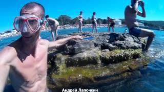 видео Отдых в Дивноморском с детьми