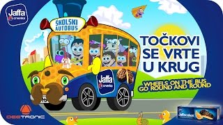 Tockovi se vrte u krug (Wheels On The Bus Go Round and Round) Nursery Rhymes (2015) powered by Jaffa