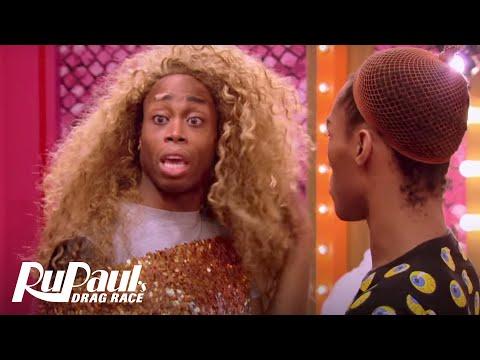 Monique Steals Blair's 'Beyoncé' Wig 'Deleted Scene'   RuPaul's Drag Race Season 10