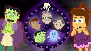 Spin The Spooky Mystery Wheel | जादुई पहिया | Fun Games For Kids | Annie Aur Ben Ki Paathshala