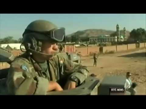 RTÉ News, Irish Troops in Chad can Stand the Heat in the Kitchen