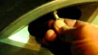 2006 Chevy Impala -- Reset Tire Pressure Sensors