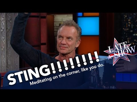 Sting Loves New York