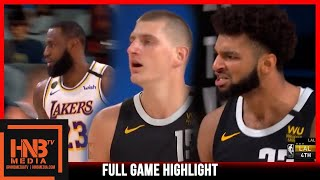 Lakers vs Nuggets Game 3 9.22.20 | Western Finals | Full Highlights