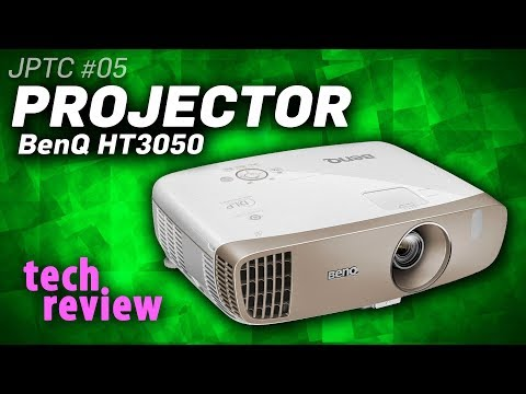 Tech Review: BenQ's HT3050 3D PROJECTOR -- Better Than A TV?