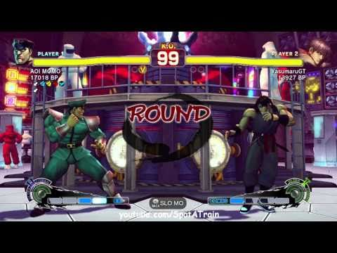 SSFIV: AOI MOMO (Dictator) vs YasumaruGT (Guy) TRUE-HD QUALITY