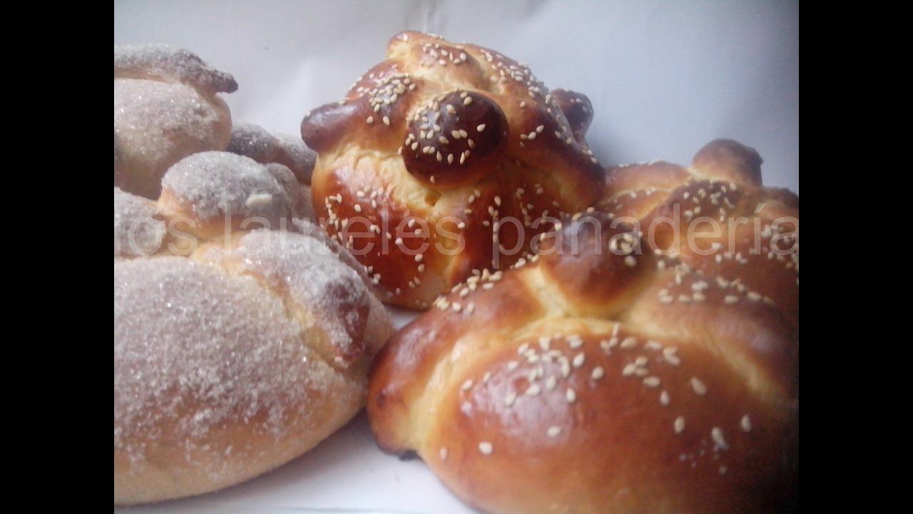 receta para pan de muerto hojaldras