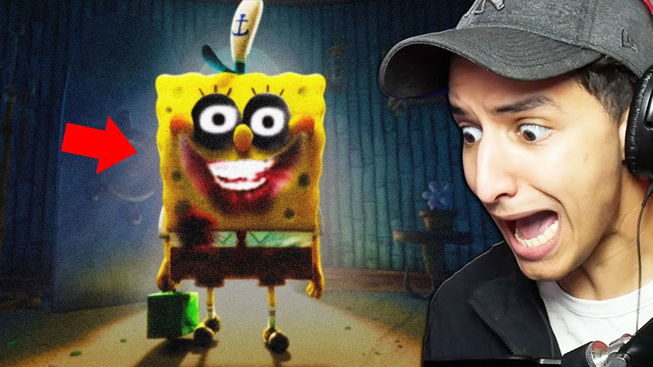 Cursed SPONGEBOB Will Give You NIGHTMARES... (Scary)
