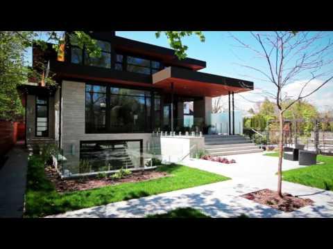 Виде-обзор дома в стиле хай-тек