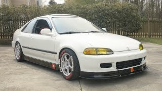 K20 Honda Civic Review! - 8500 RPM's of Smiles! (ft. Honda Street Garage)