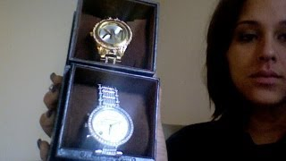 The difference between a real and a fake Michael Kors watch