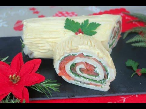 Tronco Di Natale Youtube.Tronchetto Salato Di Natale Vi Basteranno Delle Fette Di Pancarre
