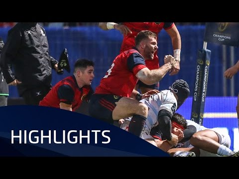 Racing 92 v Munster Rugby (Pool1) highlights