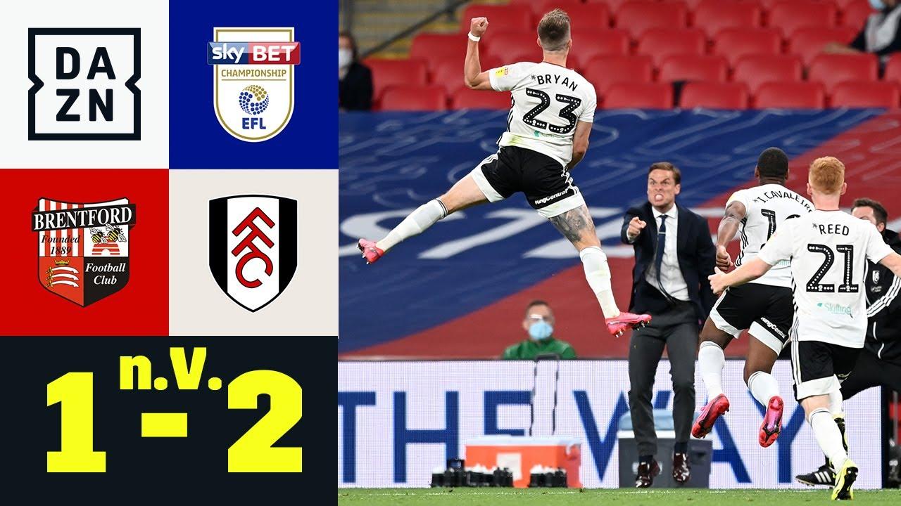 Die Nacht des Joe Bryan! Fulham zurück in der Premier League! Brentford – Fulham 1:2 | EFL Playoffs