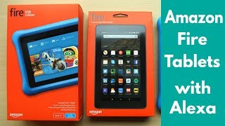 Amazon Fire Tablets With Alexa(2017) Kids Edition