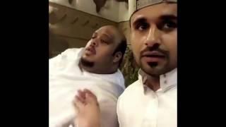 نايف الحوطي يمقلب خاله ابو منصور بشرب الصابون😂😂😂😂
